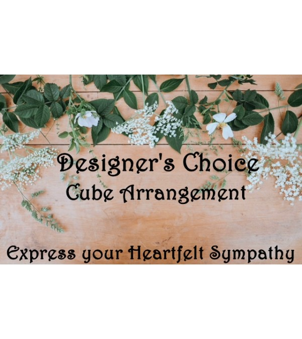 Cube Arrangement-Designer's Choice Sympathy