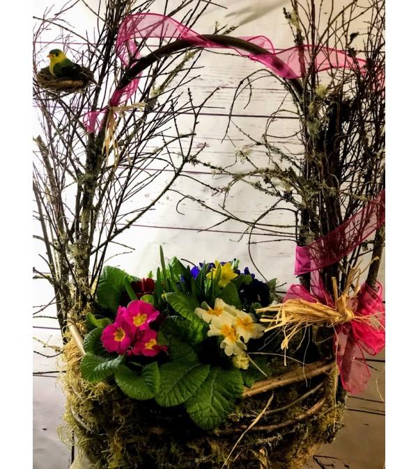 Central Village Grand Garden Basket
