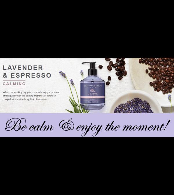 Crabtree & Evelyn-Lavender & Espresso