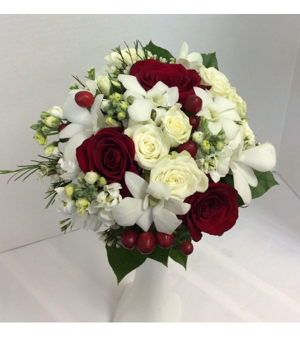 Prom BVP29 - Lovely In Red Bouquet (pick up only)