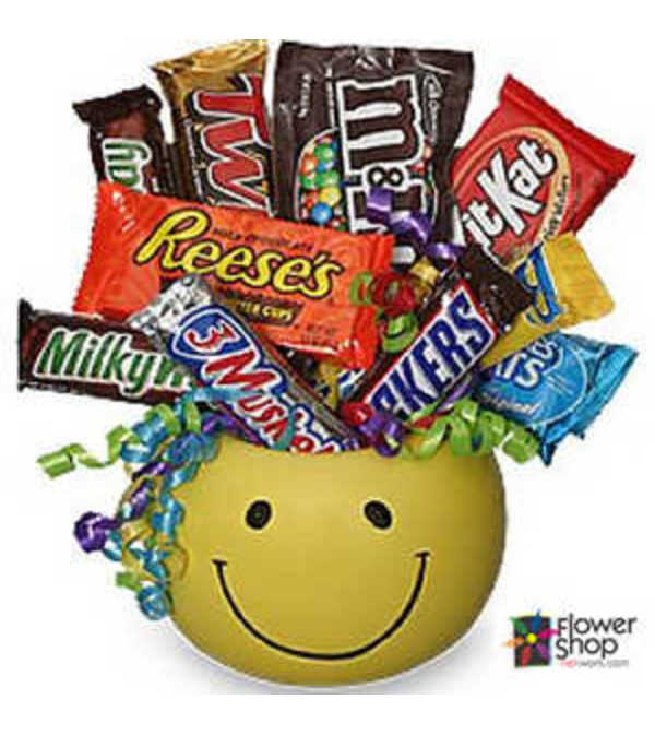 Junk Food Smiles Basket by FSN