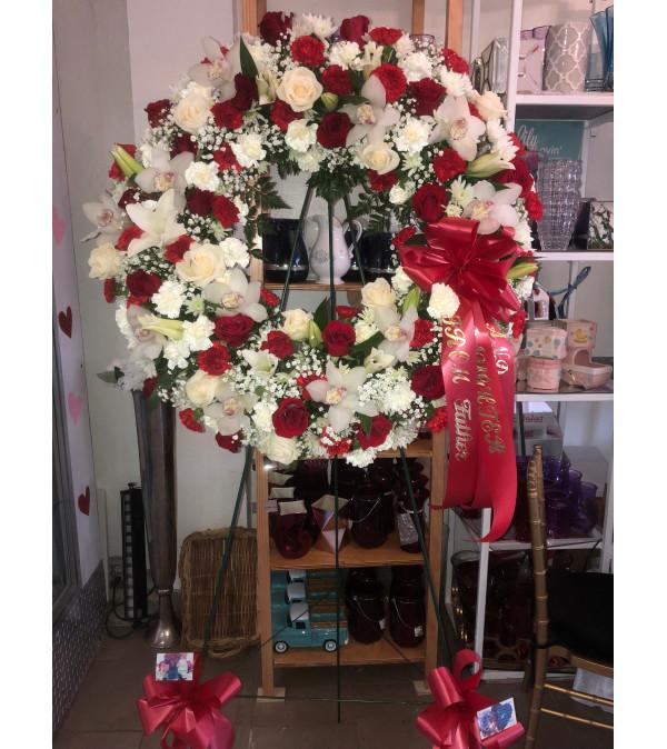 Passionate Faith Wreath