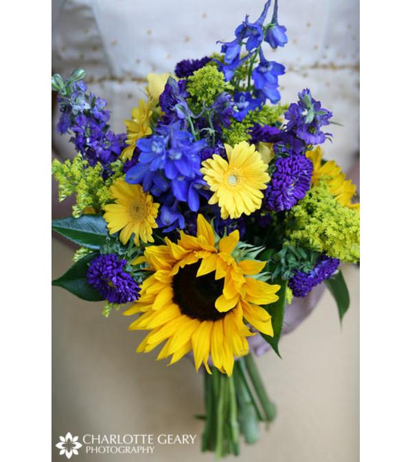 Sunflower nosegay