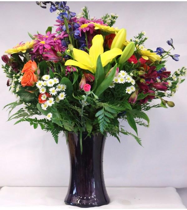 Talisman's Vibrant Vase