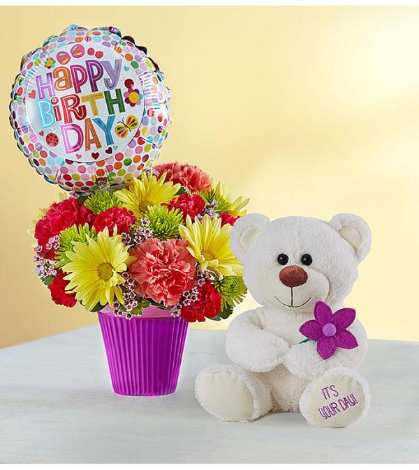 Lots Of Love Happy Birthday Mentor Oh Florist