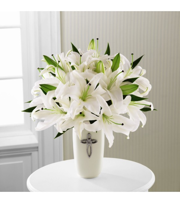 Faithful Blessings Sympathy Bouquet