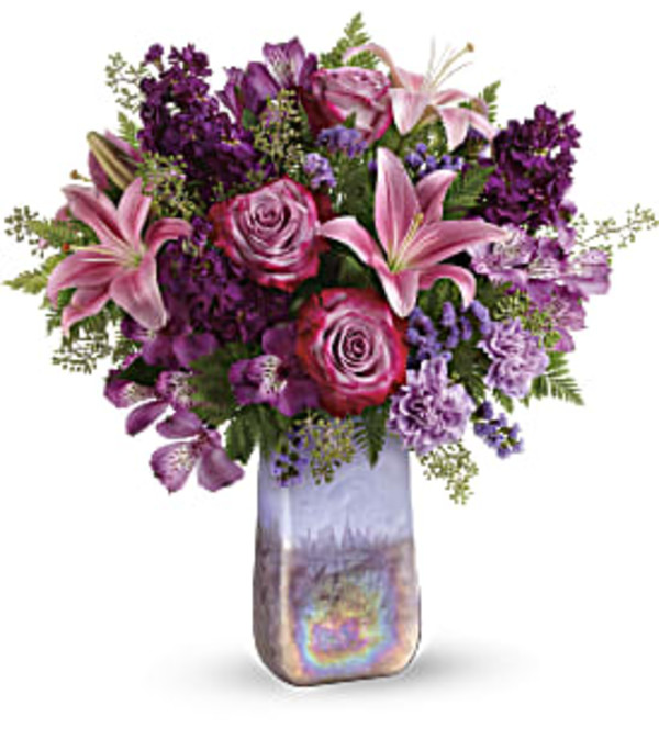 Jeweled Amethyst Bouquet