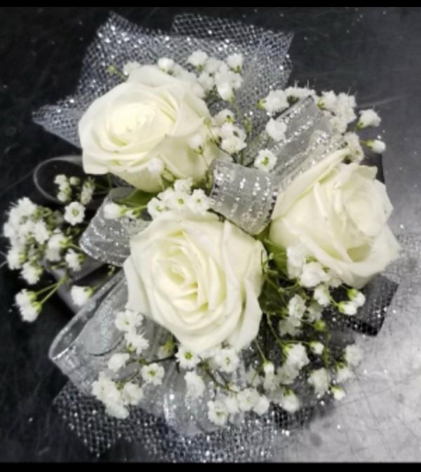Beautiful Rose Wristlet
