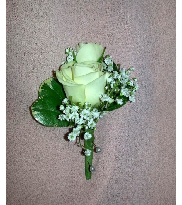 double white rose