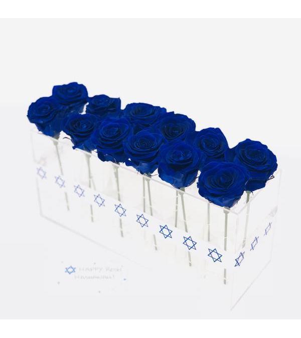 Acrylic Box  12 roses