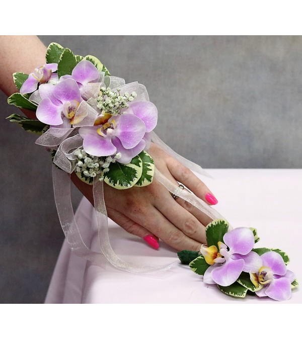 Phalaenopsis Orchid Corsage/Boutonniere