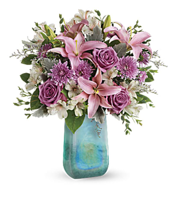 The Art Glass Treasure Bouquet