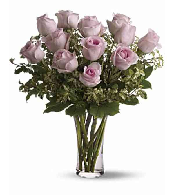 Pink Roses Arranged