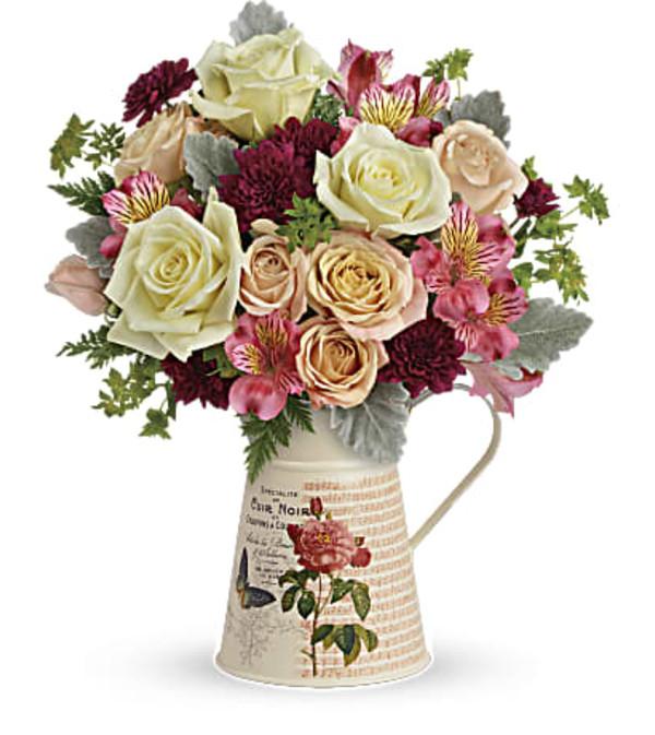 Vintage Spring Bouquet