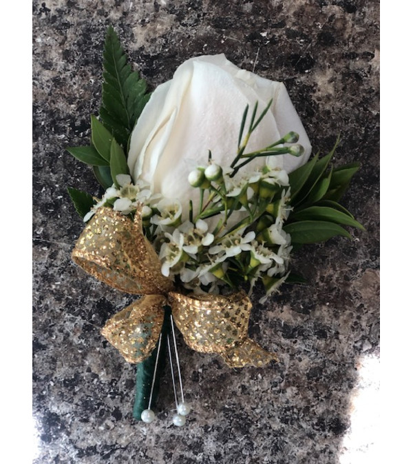 Prom Rose Boutonniere