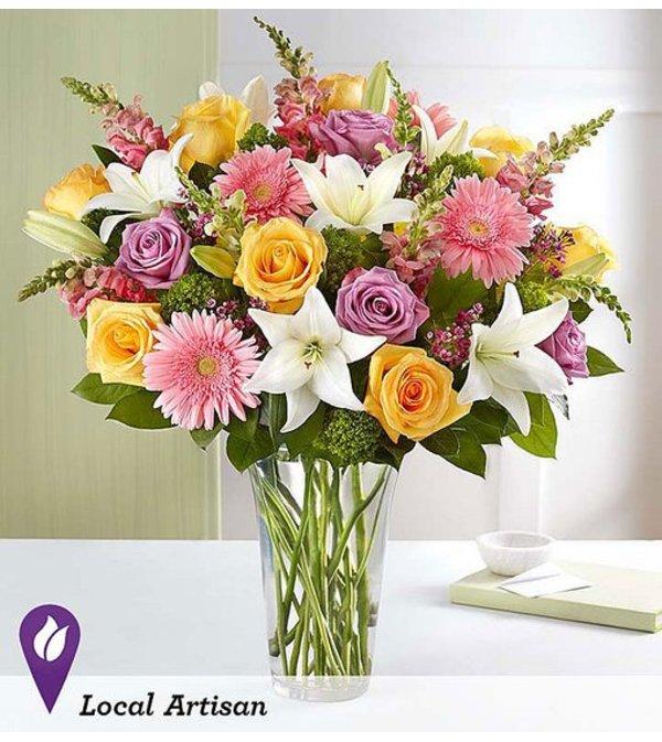 Sensational Spring Beauty Vase