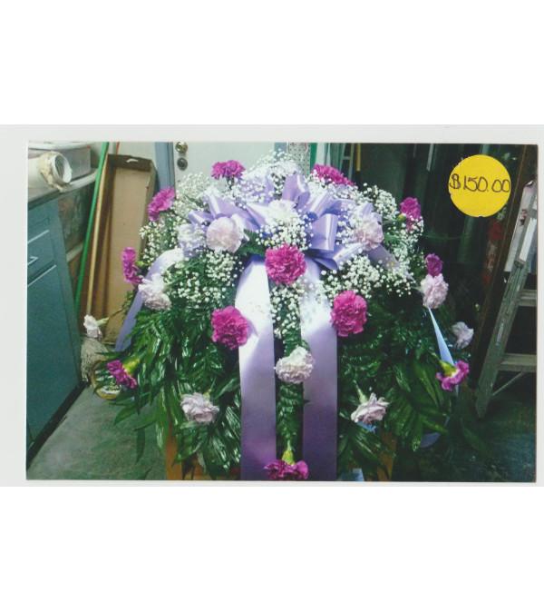 Casket Of Carnations
