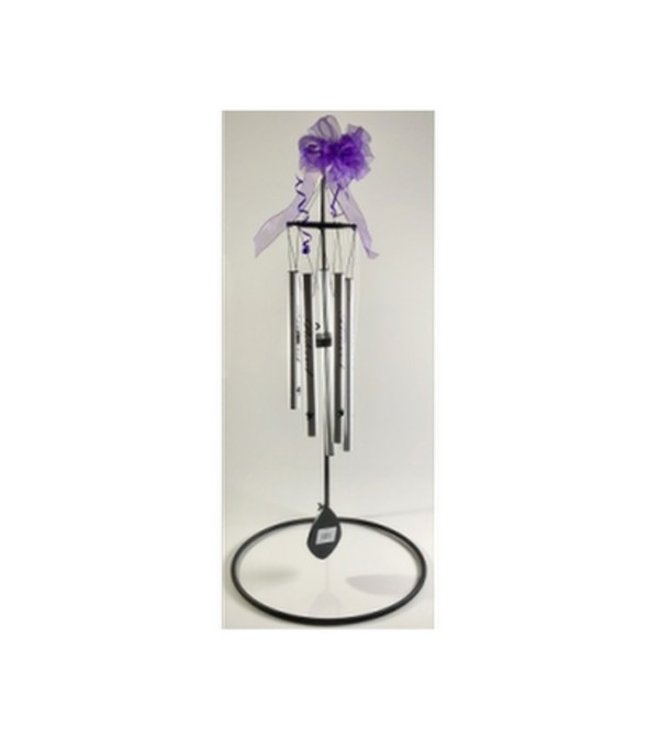 Pewter Fleck Wind Chime