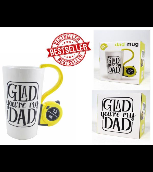 Glad you're my Dad Mug I