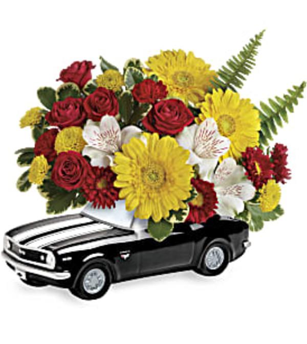 Black Beauty '67 Chevy Camaro Arrangement