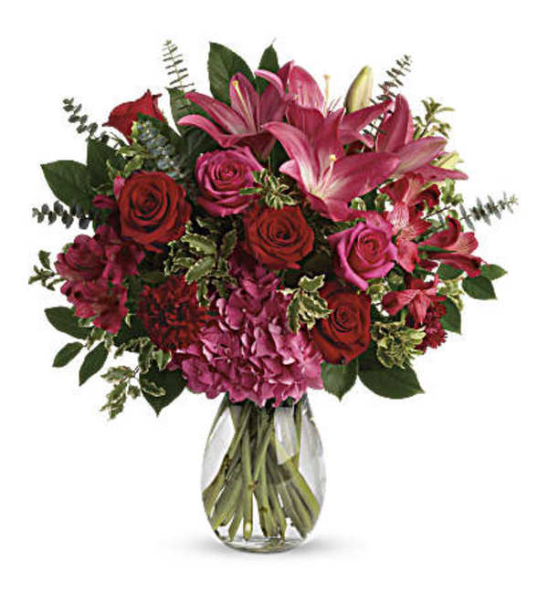 Love Struck Flower Bouquet