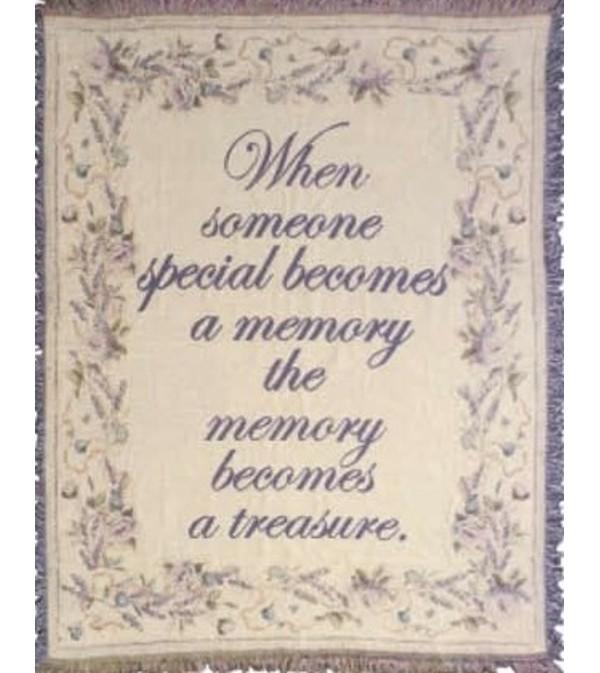Memory Becomes A Treasure Afghan