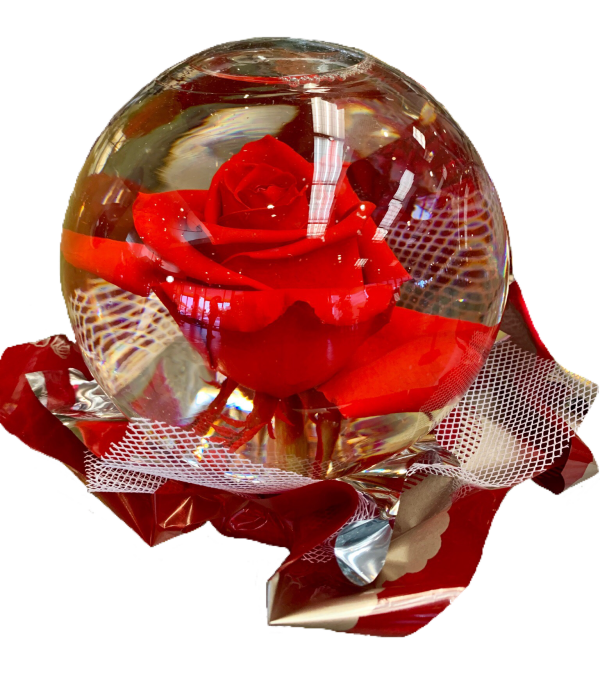 Red Rose Globe