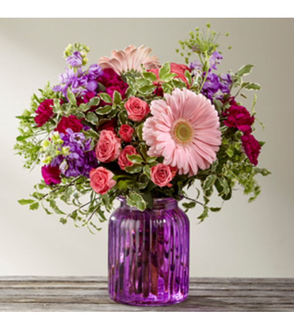 Purple Prose Bouquet