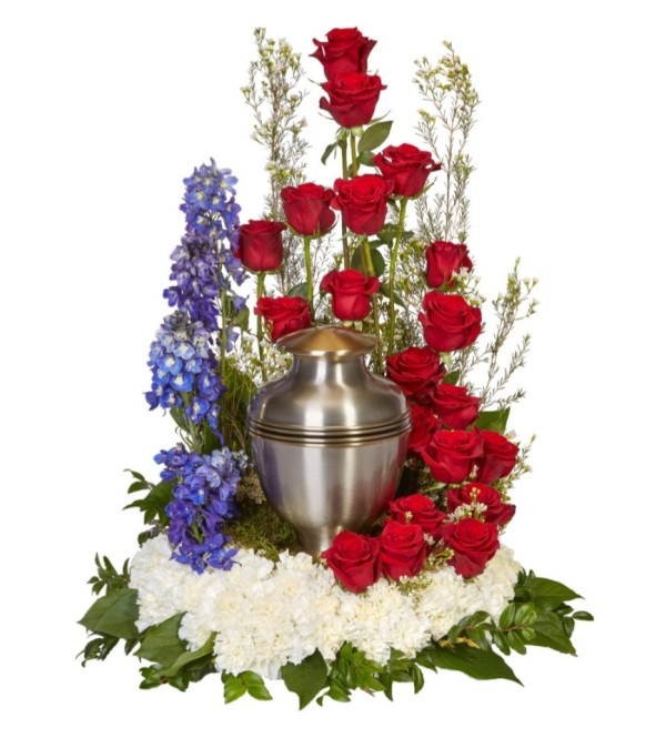 Tradition Rising Urn Arrangement