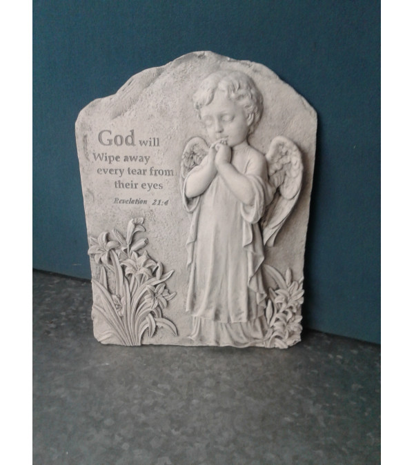 Baby Angel Stepping Stone