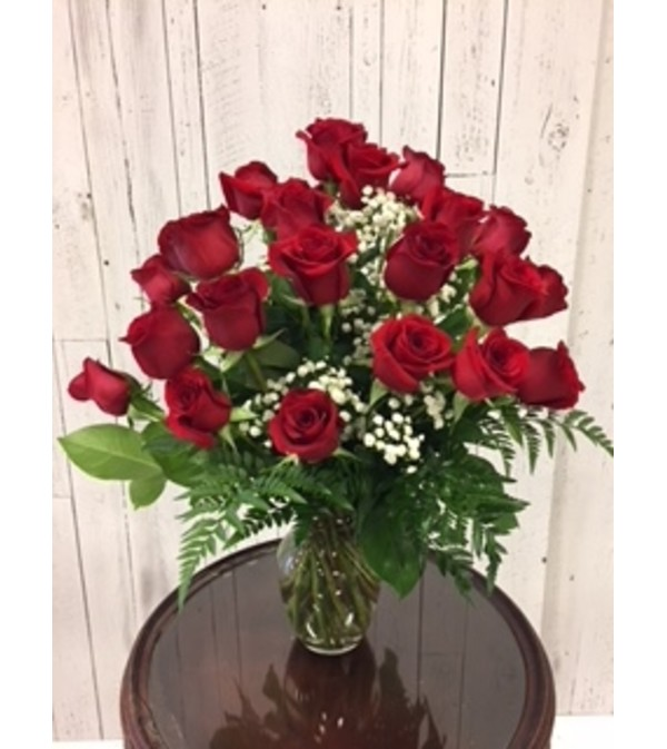 Limited Time 24 Red Rose Bouquet