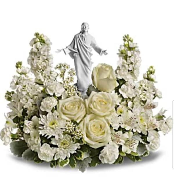 Jesus in Serenity Garden
