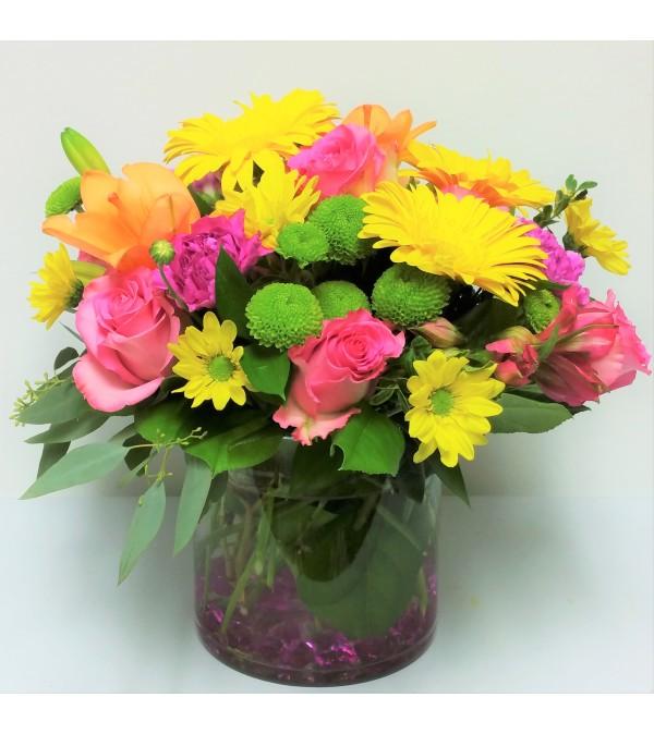Vibrant Vase