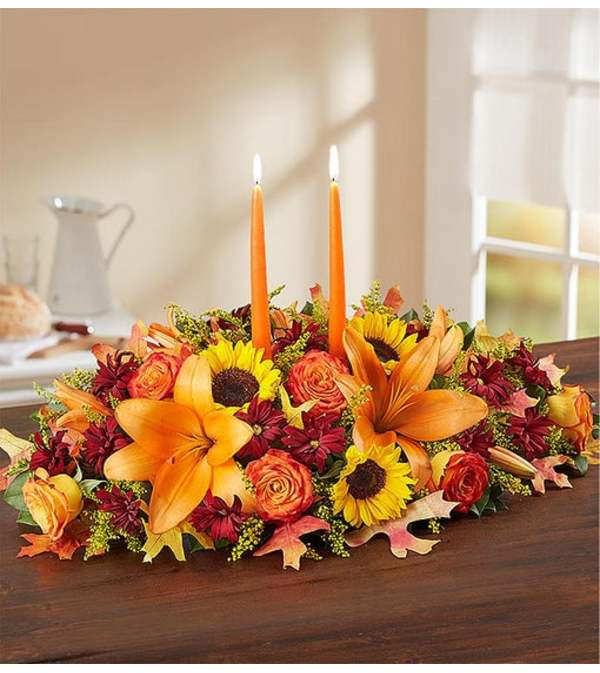 Extra Large Fields of Europe for Fall Centerpiece