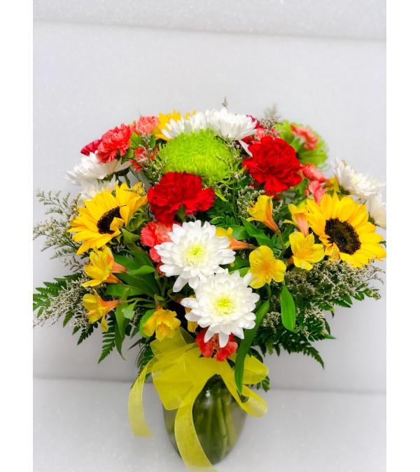 Garden Mix Roundy Moundy Bouquet