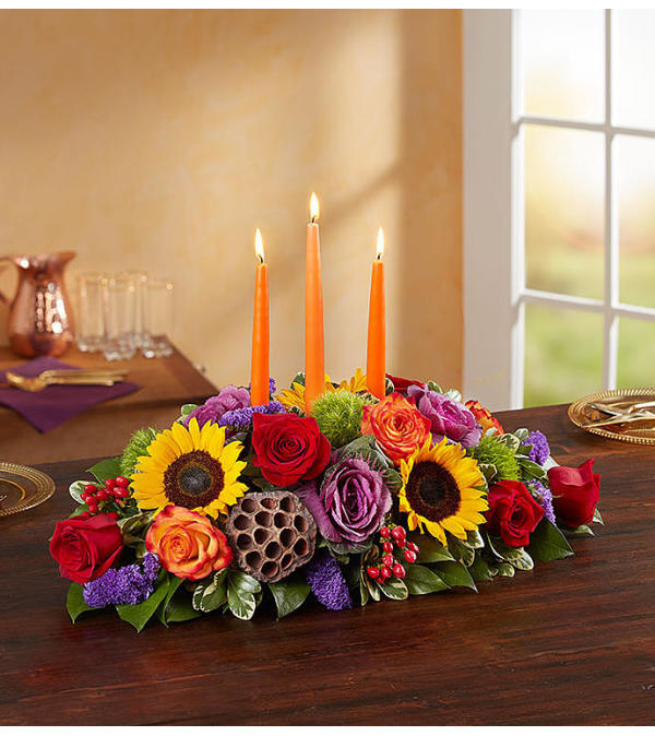 GARDEN OF FALL CENTERPIECE