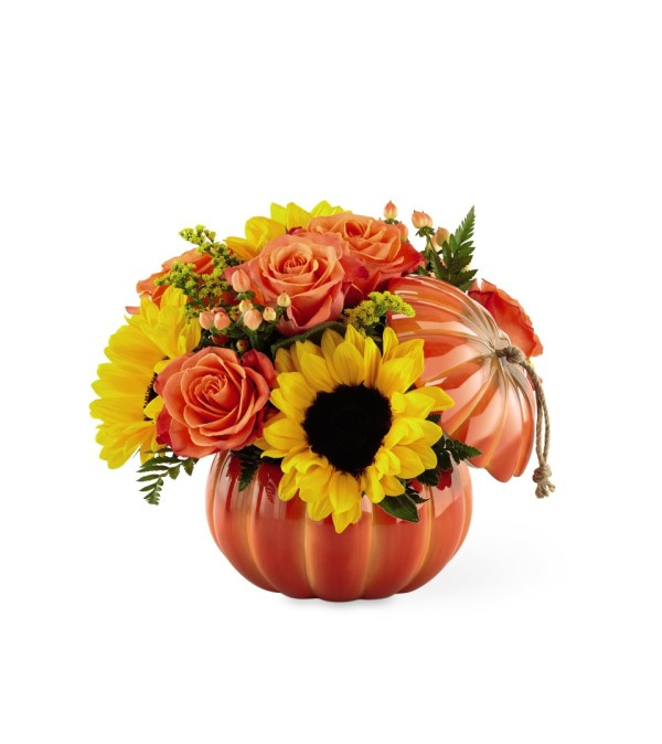 Harvest Traditions™ Pumpkin by FTD® Flowers