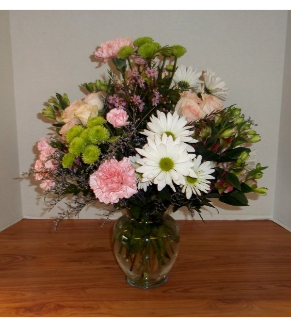 Delightfully Pinks Bouquet