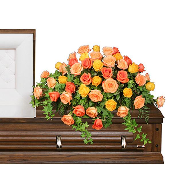BEAUTIFUL ROSE BENEDICTION Funeral Flowers - FSN