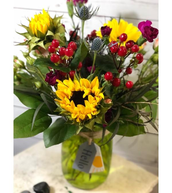 Hello Sunshine Sunflower