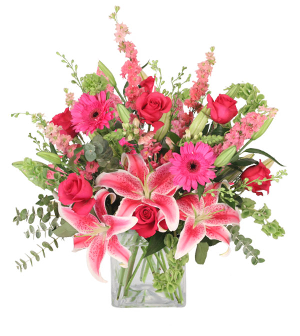 Pink Explosion Vase Arrangement - FSN