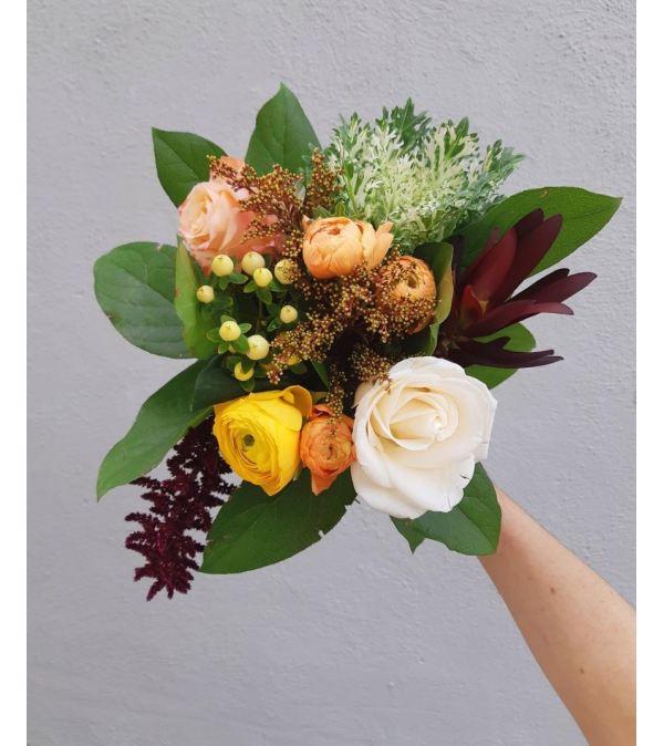 Golden Hour: Autumn Artisan Bouquet