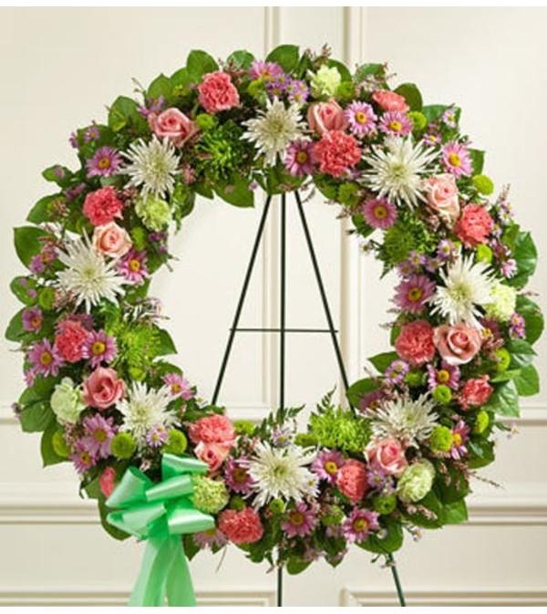 Wreath-Pastel Mix