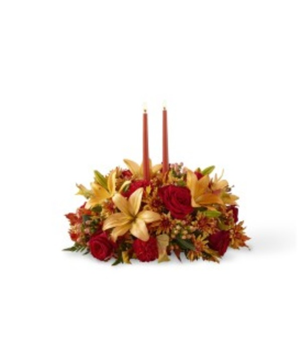 The Bright Autumn™ Centerpiece by FTD
