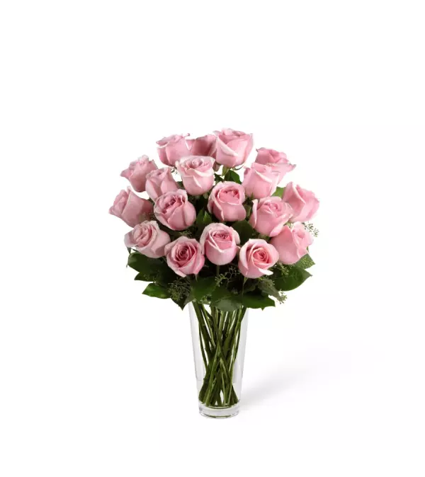The Pastel Pink Rose Bouquet by FTD