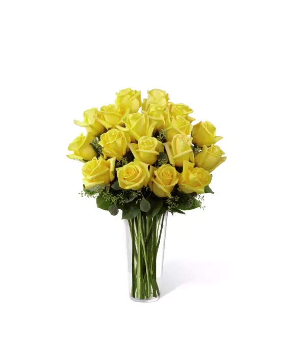The FTD® Yellow Rose Arrangement