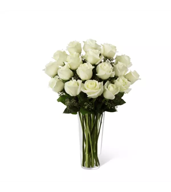 The FTD® White Rose Arrangement