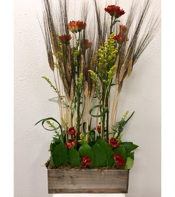 Wheat and Blooms Box