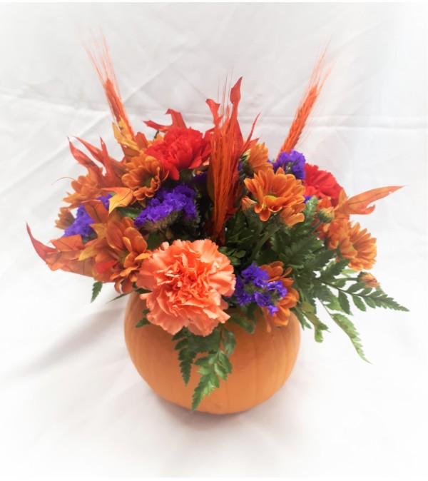 Fresh Pumpkin Bouquet