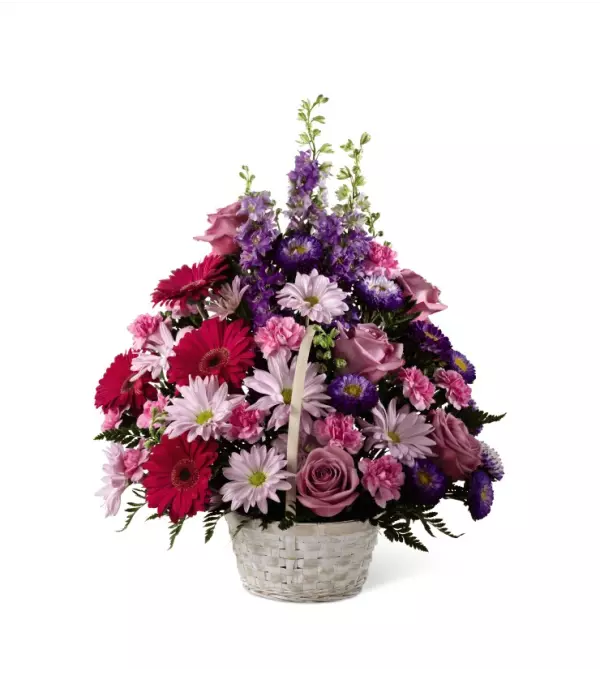 Pastel Peace™ Basket by FTD Flowers